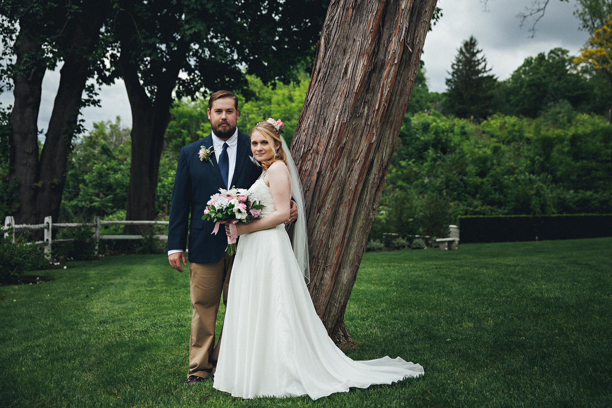 Wedding photos at sea cliff manor