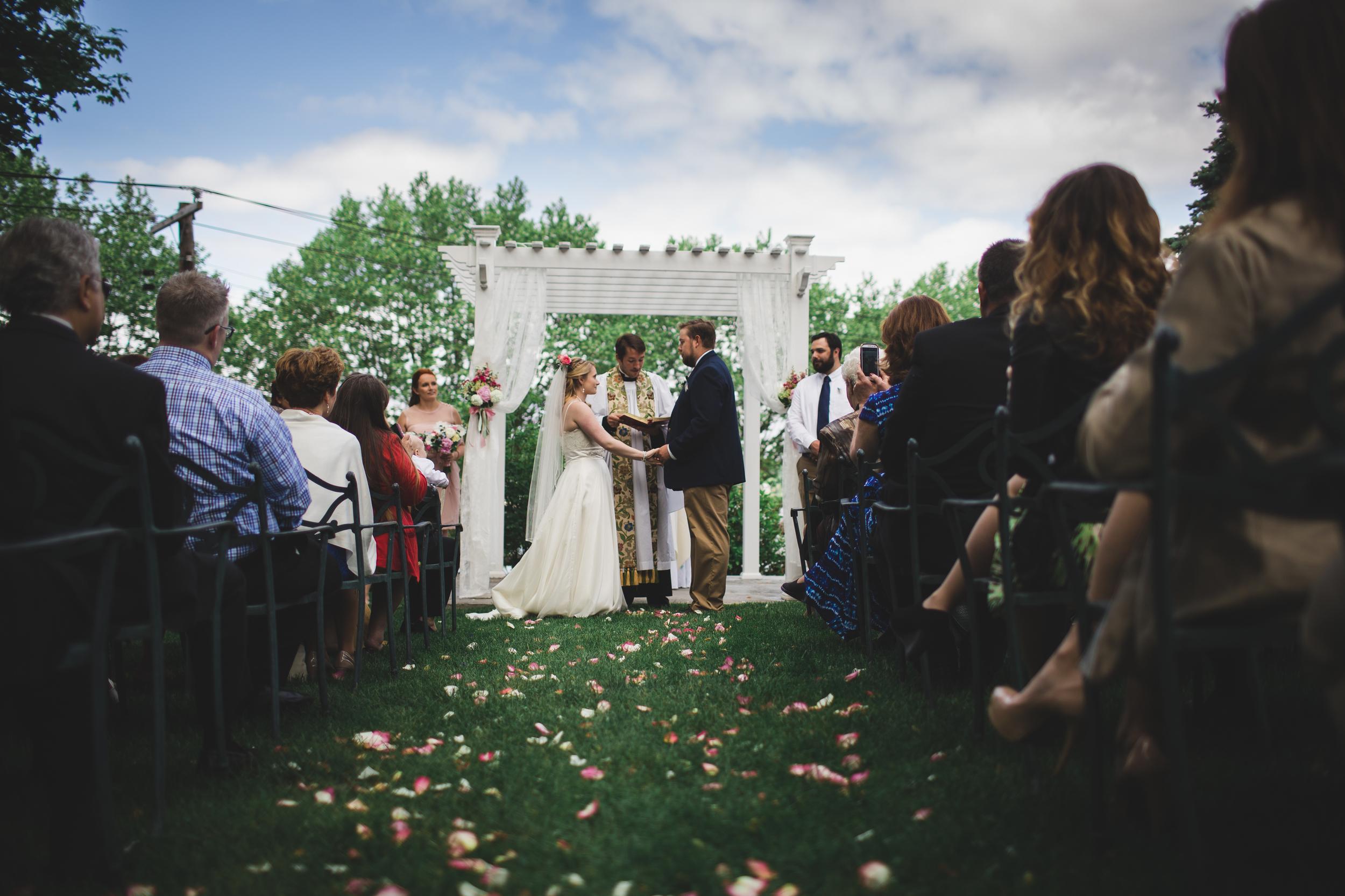 Sea Cliff Manor Wedding Ceremony