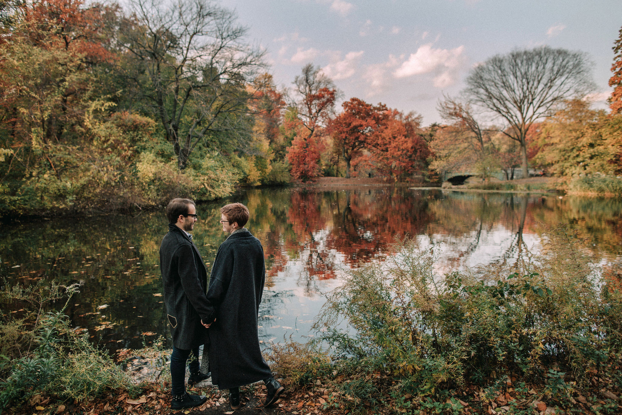 Prospect Park Brooklyn Engagement Photography