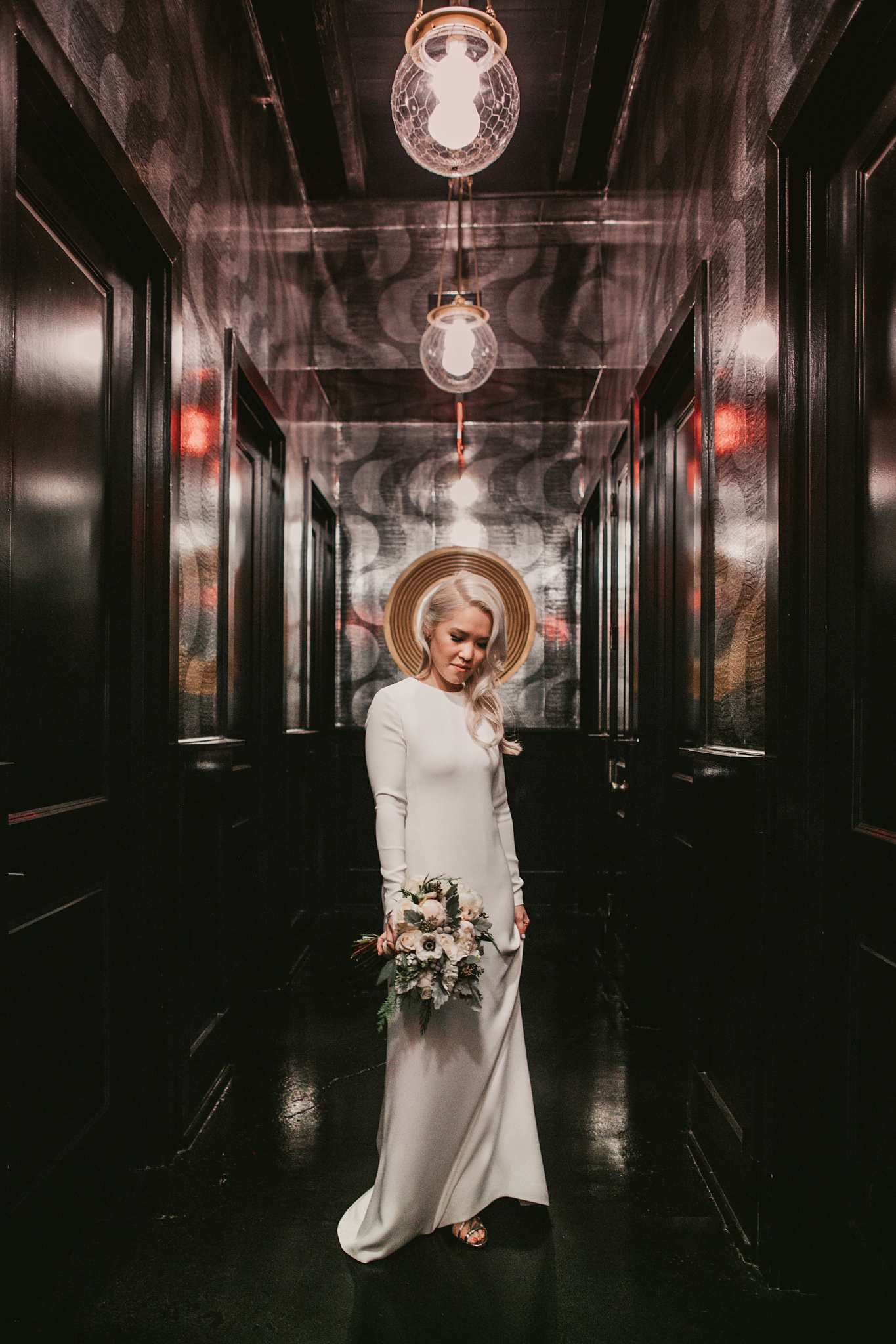 501 building wedding portrait
