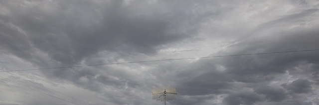 TV Antennae, Magdalena, New Mexico