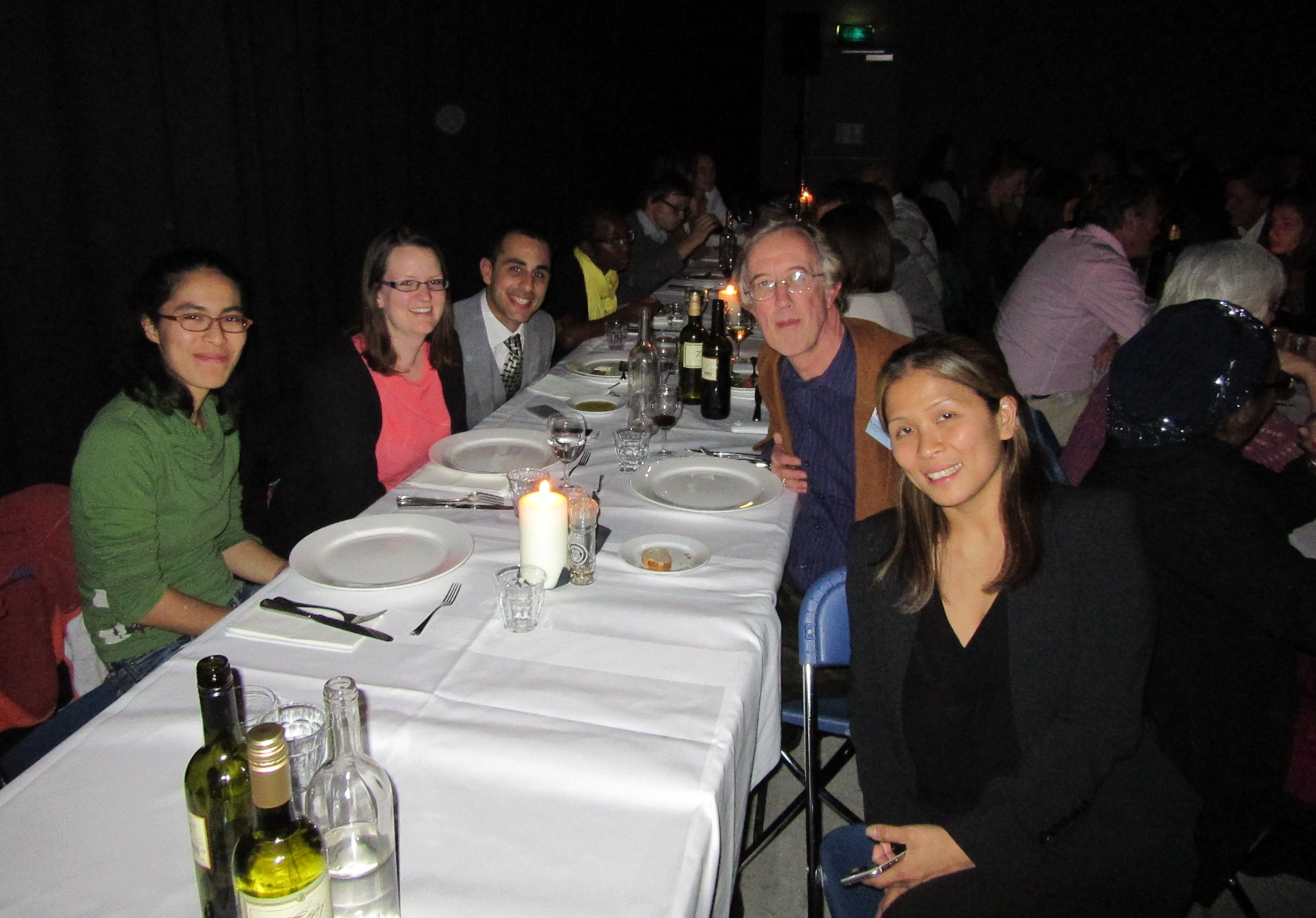 Some of the ICES team at Amsterdam; Jane Maraka, Haadi Shalabi, Michael Cotton, Jaymie Henry