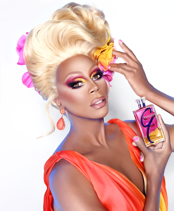 """Look at me--a big old black man under all of this makeup, and if I can look beautiful, so can you."" -RuPaul"