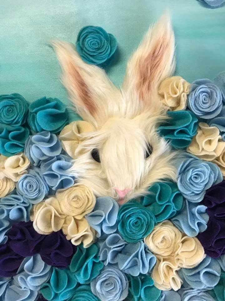 Blue Bunny (detail)