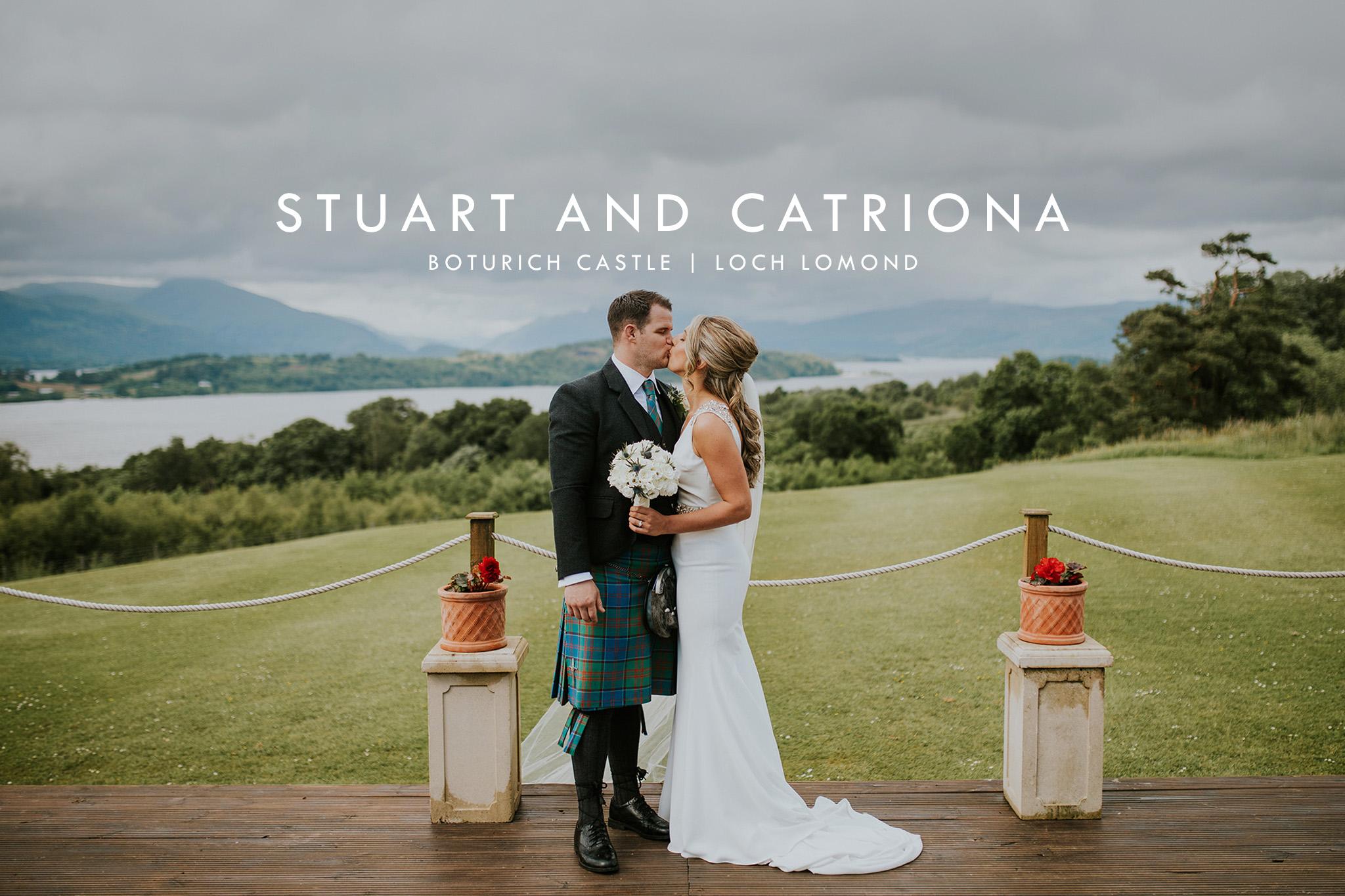 boturich castle wedding photographer