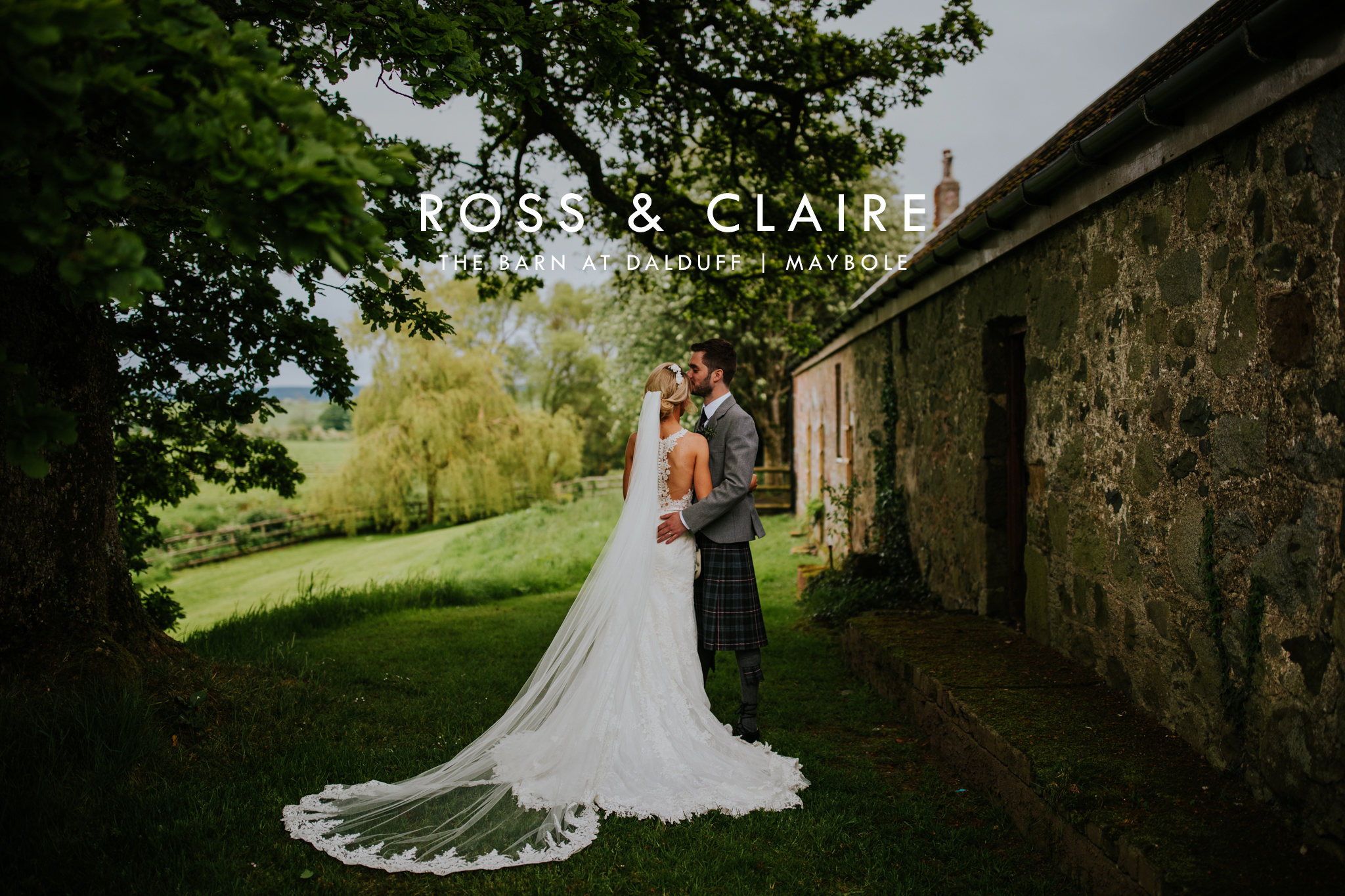 Dalduff Farm wedding photographer