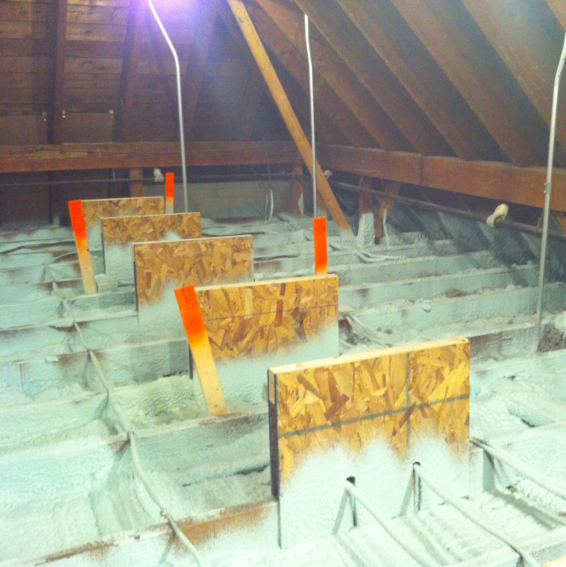 Spray Foam Attic Floor