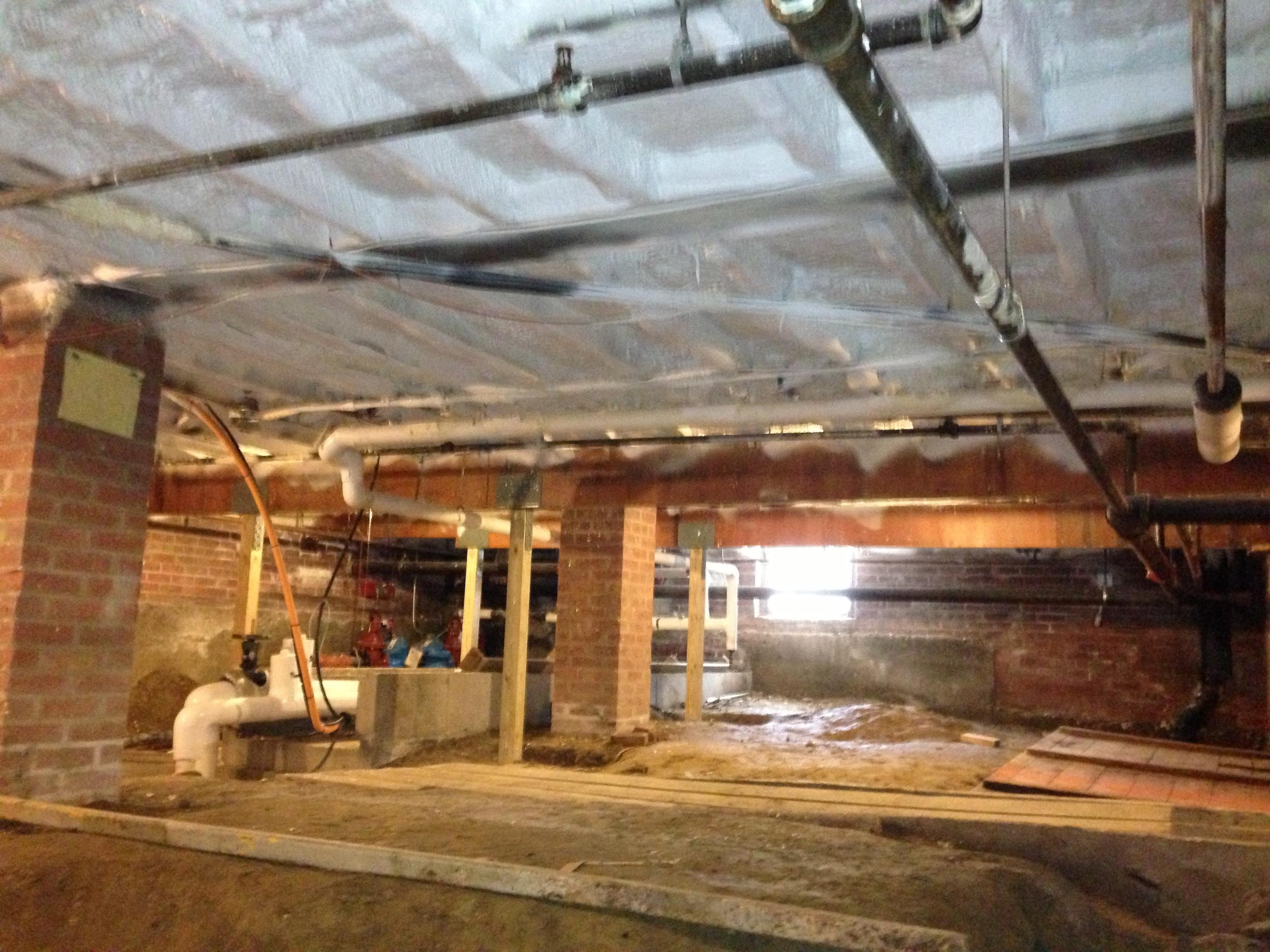 Mechanical Room Ceiling