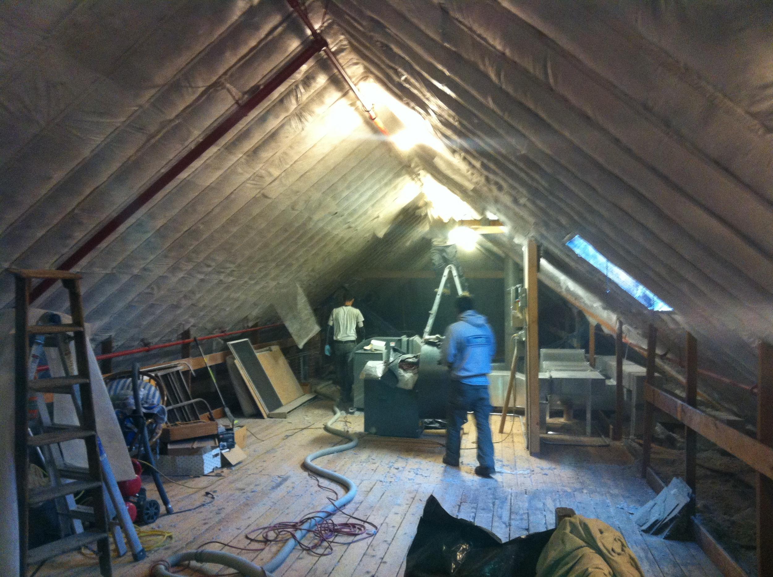 Dorm Roof Slope Densepack