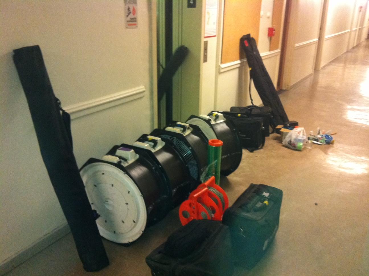 Blower Door Equipment Energia