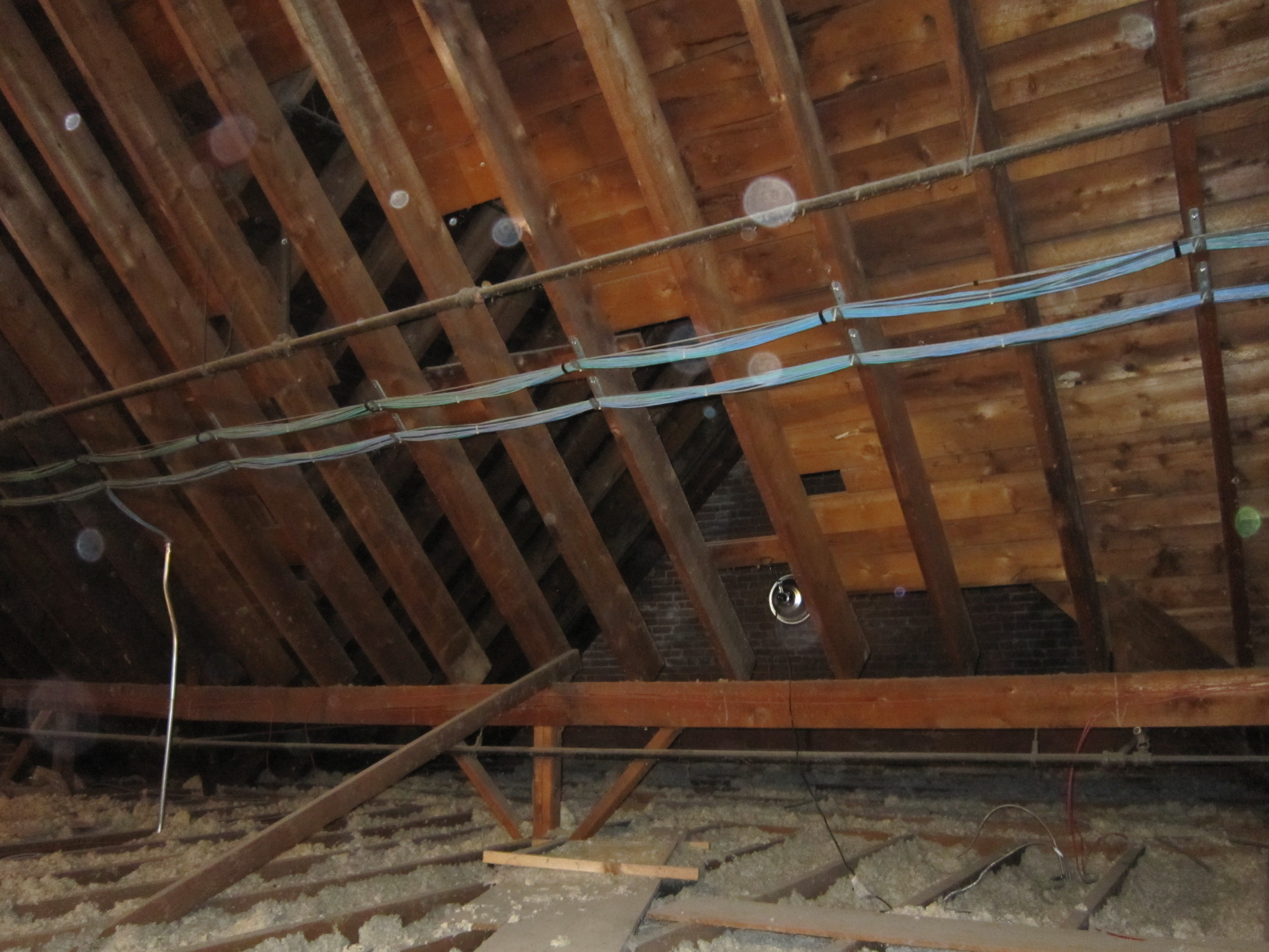 Before Insulation Removal