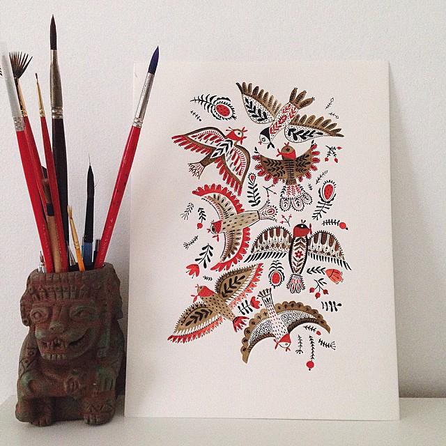 birds by mirdinara