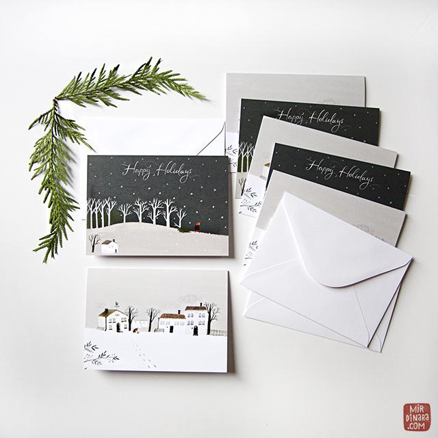 mirdinara holiday cards 2014
