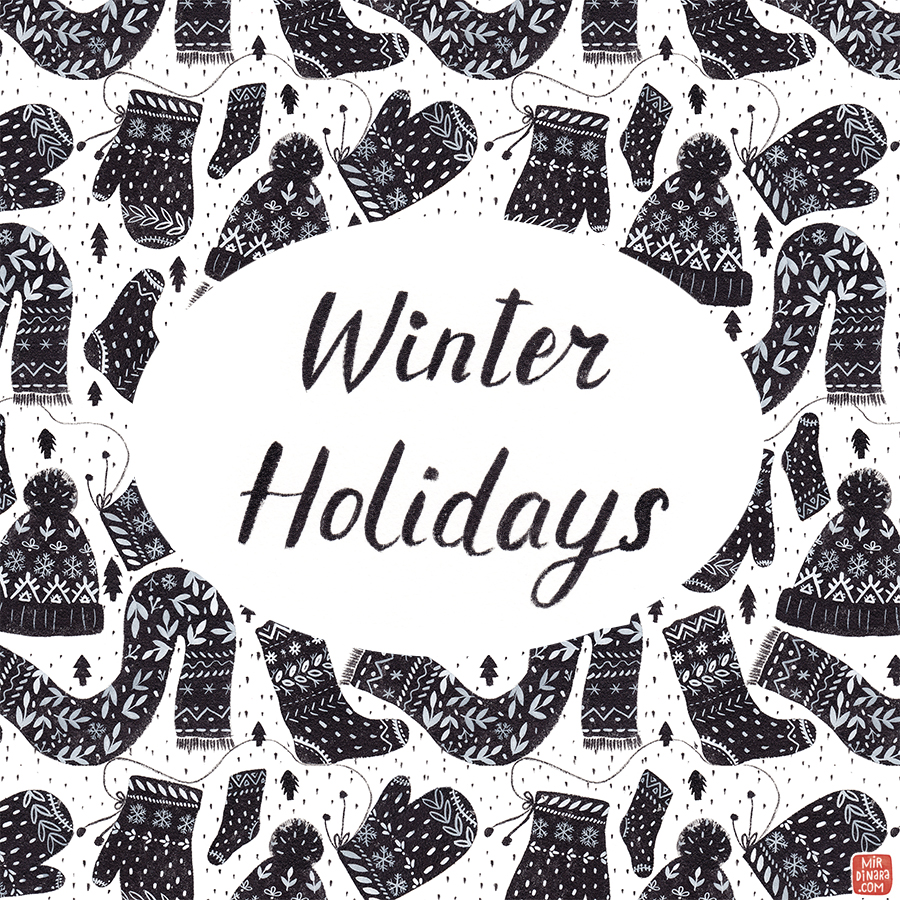 winter holidays by mirdinara