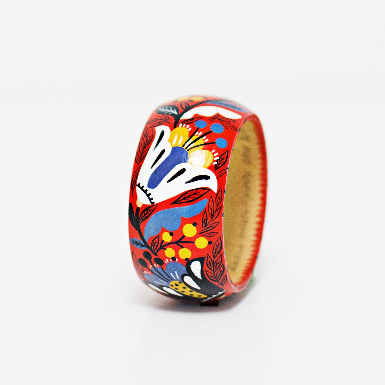 Dinara Mirtalipova Hand Painted Bracelet