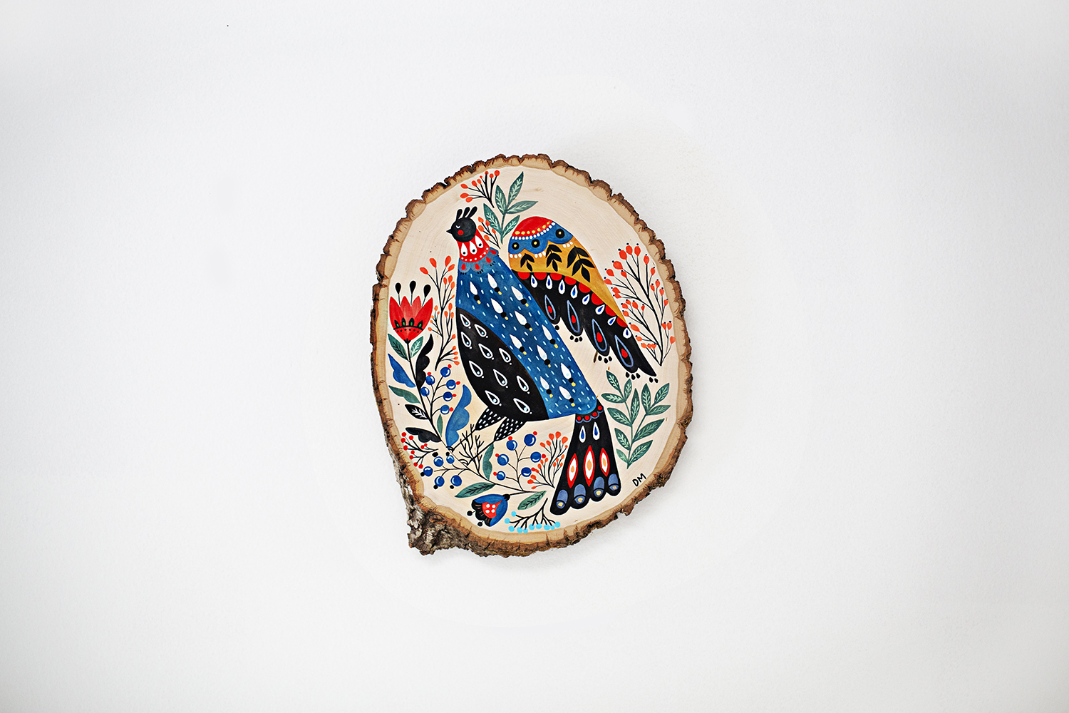Dinara Mirtalipova Bird on Wood No2 B 72.jpg