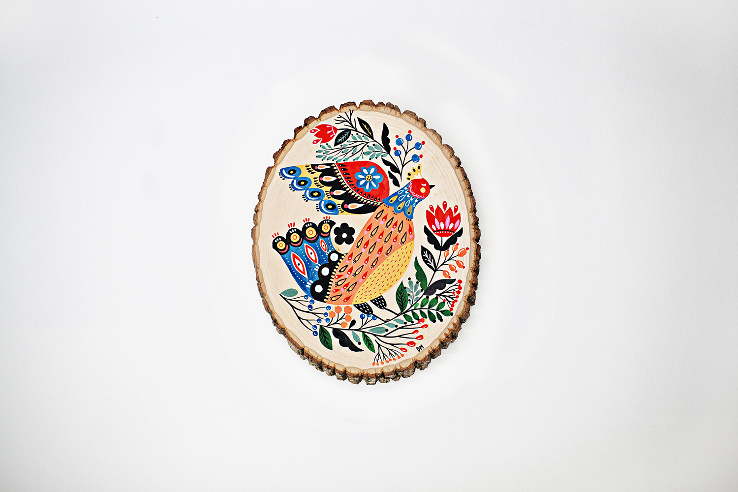 Dinara Mirtalipova Bird on Wood No5 B 72.jpg