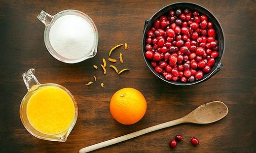 cranberry sauce ingredients