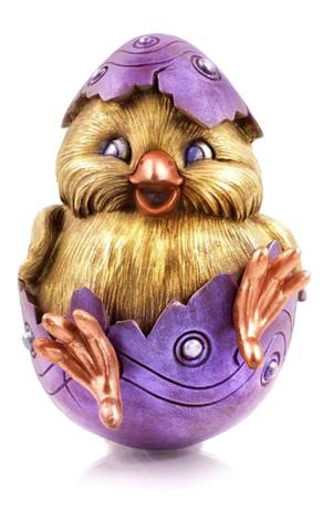 Meet Eggbert.  Credit: Laura Slack Chocolates