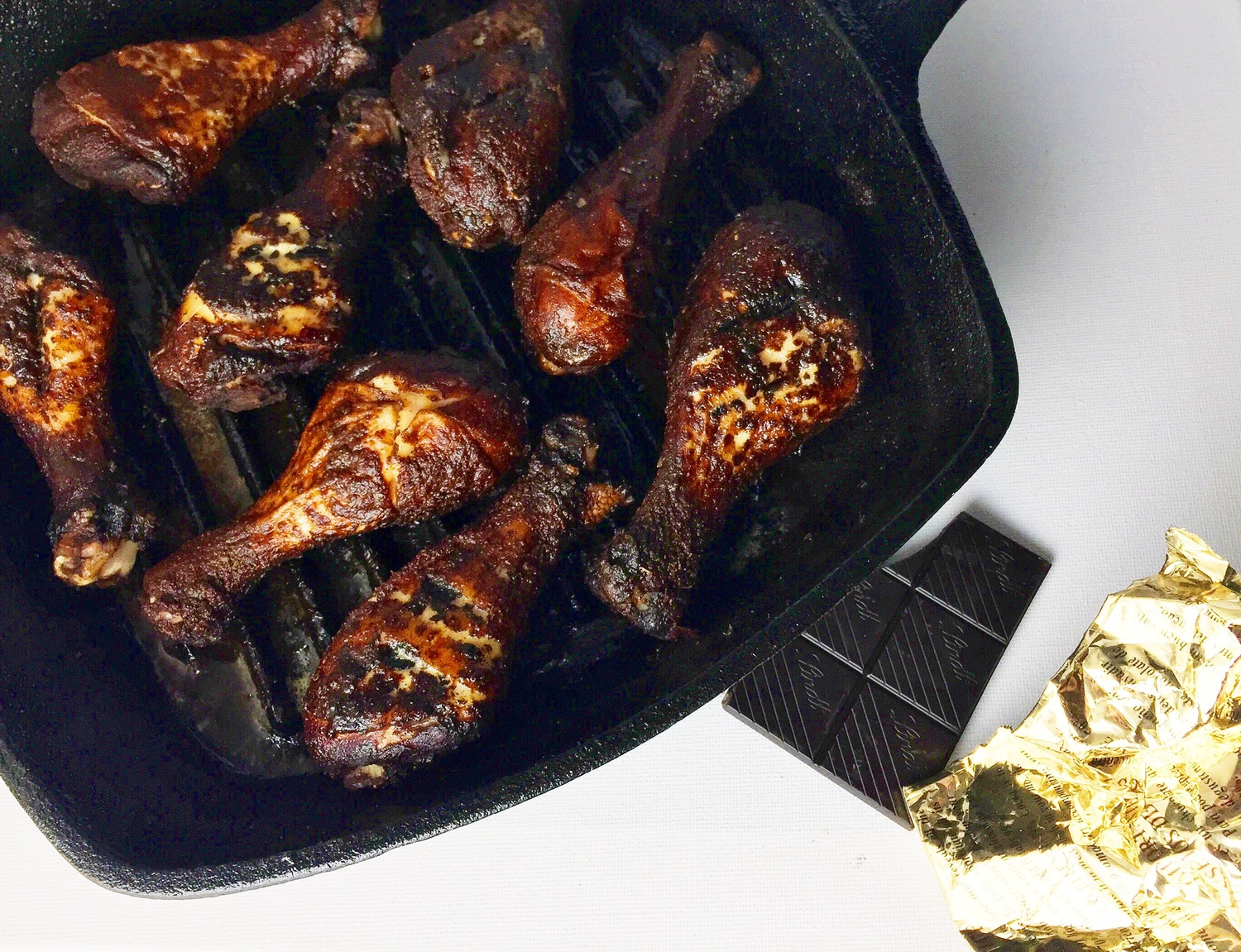 Savoury Cocoa Rubbed Chicken from Chew Street.
