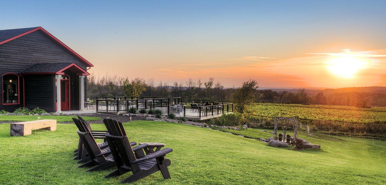 Coffin Ridge Winery, Grey County.