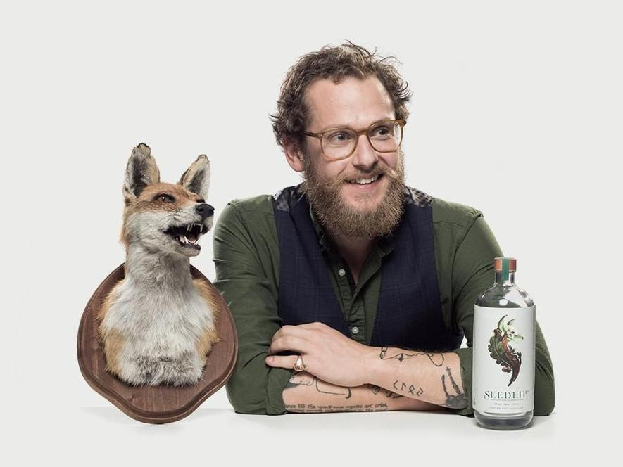 Seedlip Founder Ben Branson.  Image courtesy Seedlip Drinks.