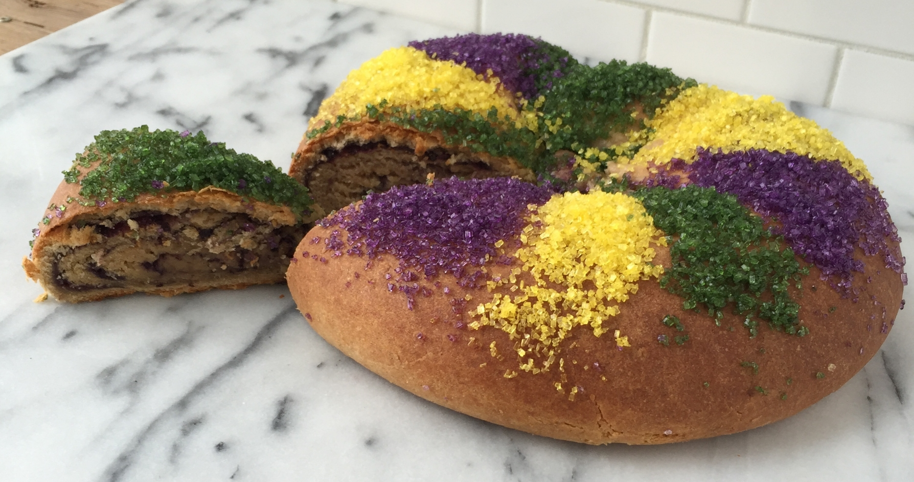 Locally Preserved King Cake