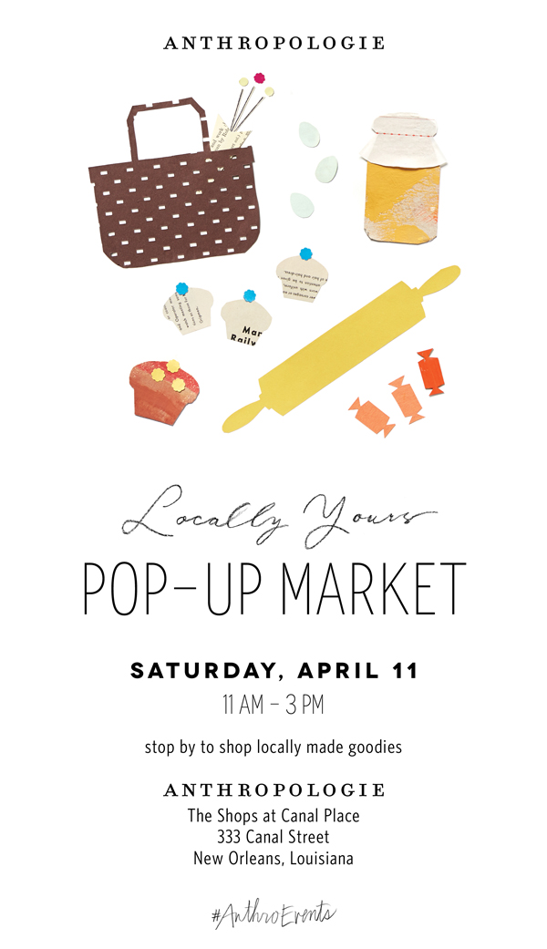 Anthropologie Pop-up Market 4.11.2015