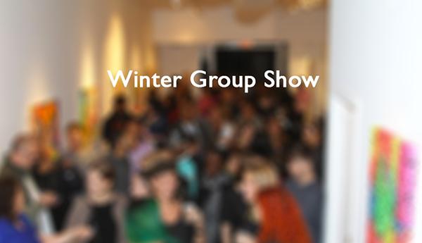 """Winter Group Show""   Rex Ashlock -Sebastien Aurillon -Claudia Furlani -R.d.H. -Mollie Kellog -John K. Lawson -Mari Yamagiwa  December 11 to 27, 2014"