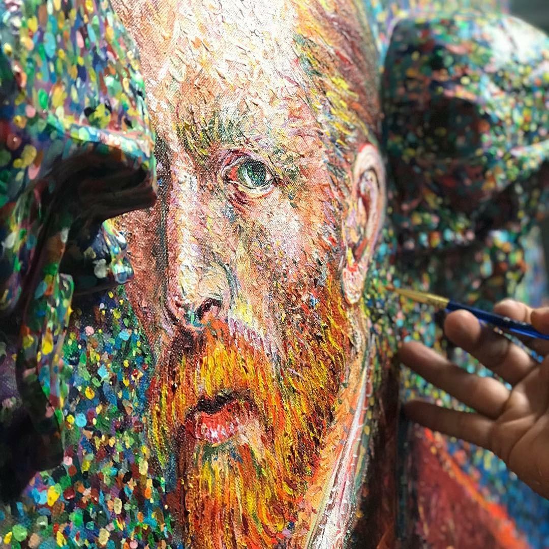Vincent - detail