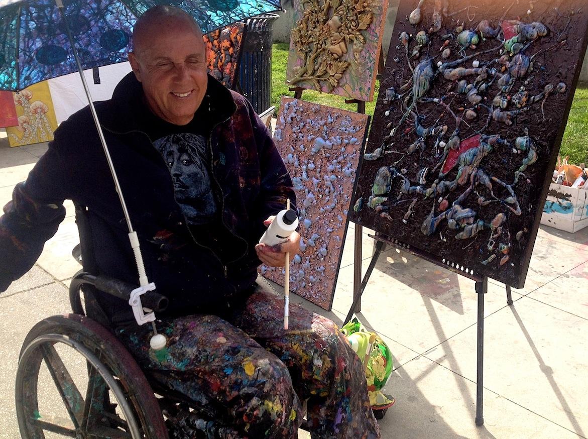 The famous & inspiring Douglas LaMarche, a Venice Beach legend!