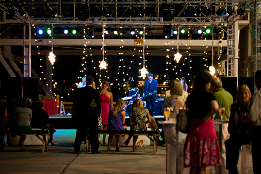 Best of Boston - An outdoor celebration on the docks of the Boston Cruise Ship Terminal