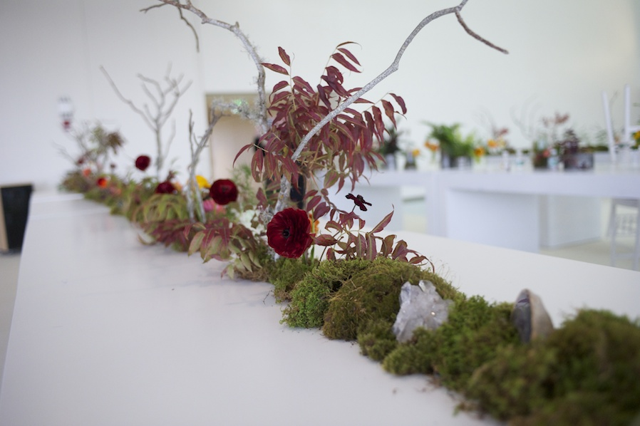 Tabletop Display in Collaboration with Forêt Design Studio | Photo by Andy Ryan