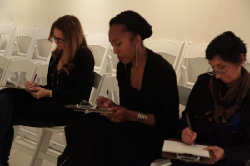 Melanie Van-Allen, Francesca Harper, and Elisa Monte; By:Ian M.