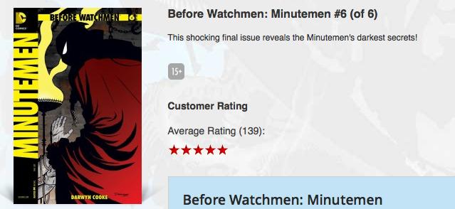 This shocking final issue reveals the Minutemen's darkest secrets!