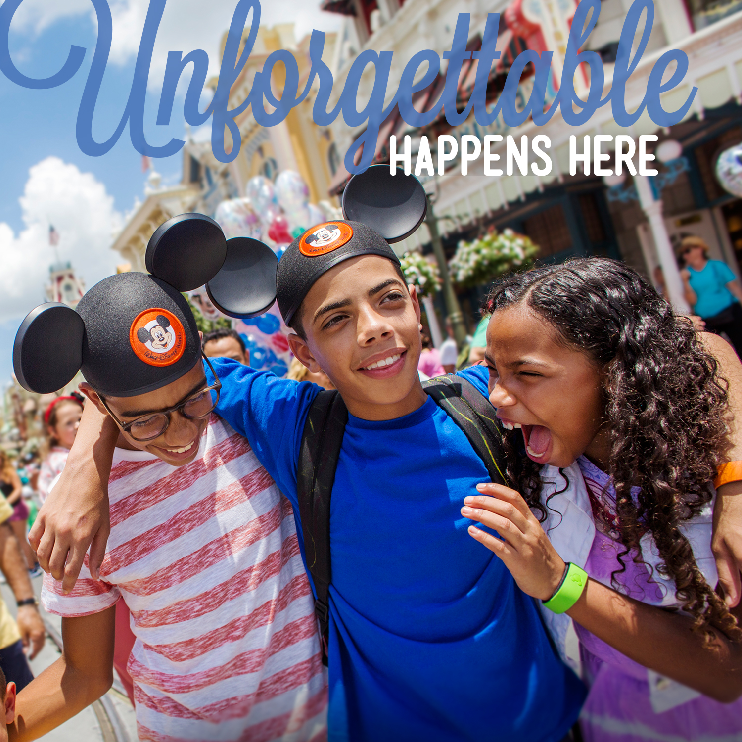Disney's Unforgettable Happens Here: Web Components