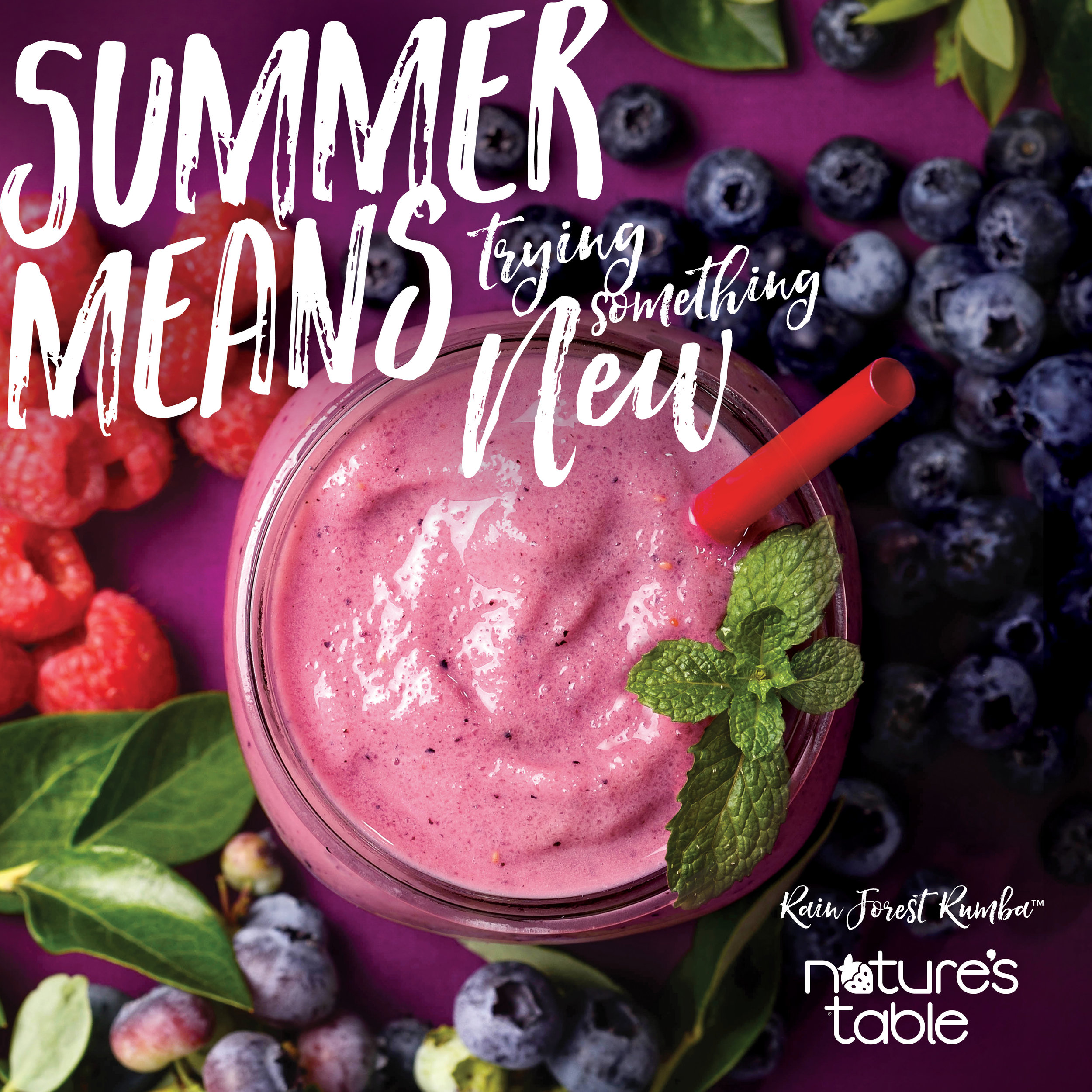 Nature's Table Seasonal Campaigns