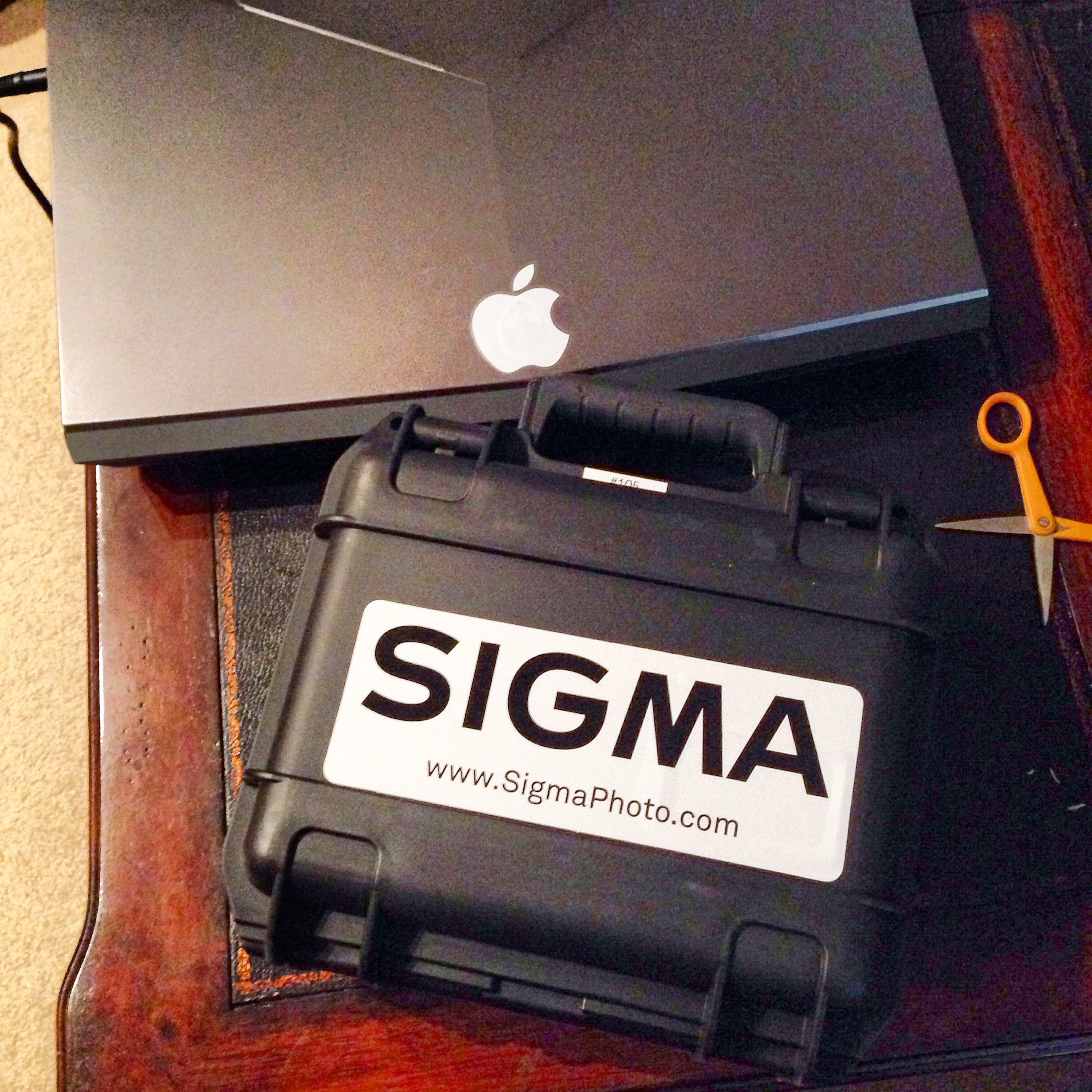 What a cool way to send a demo camera!