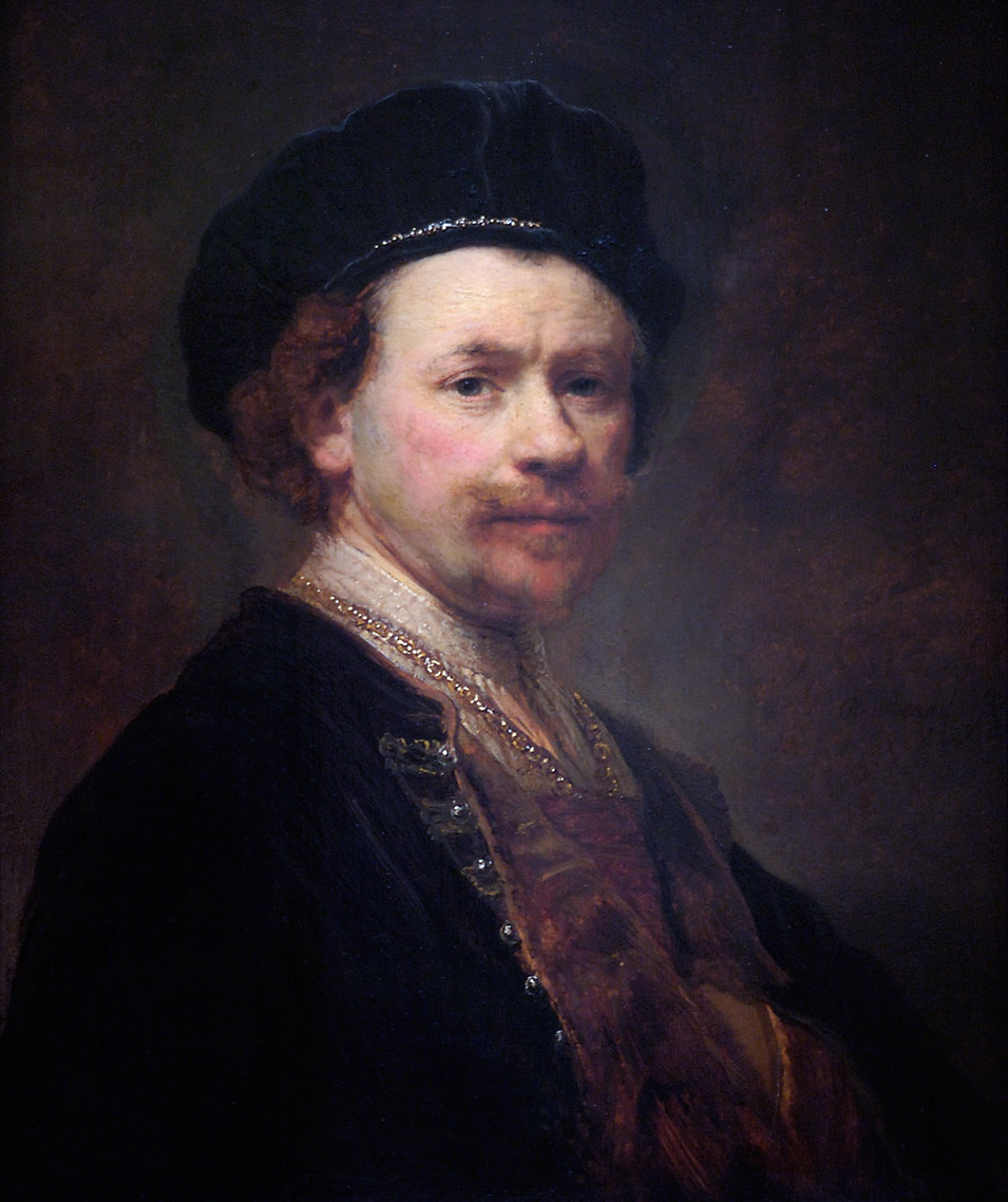 Rembrandt, Self-Portrait, c. 1636