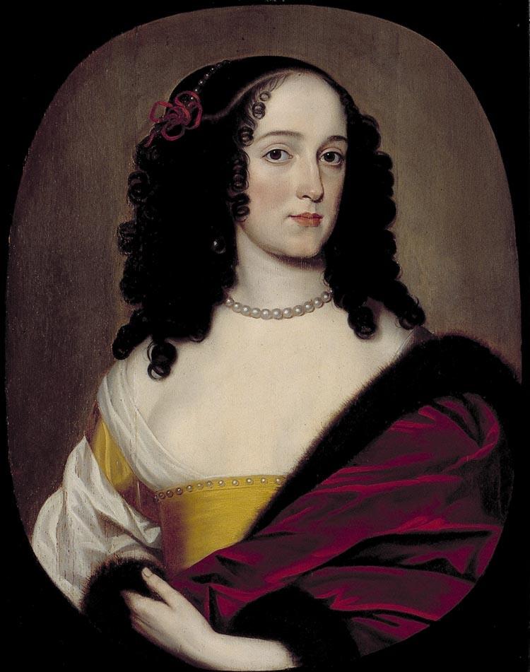 Anna Trajectina van Brederode (1629-1672), assistant toGrandmistress,Gerard van Honthorst 1650/1656: Instituut Collectie NederlandC278