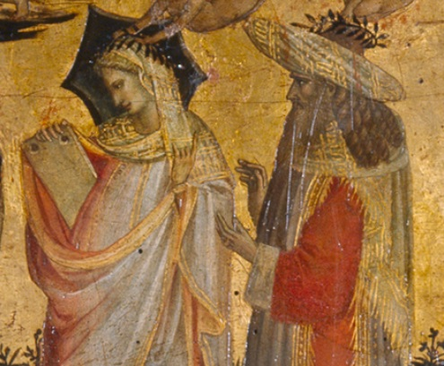 Giovanni dal Ponte, Seven Liberal Arts, detail: Pythagoras and arithmetic , The Prado Museum