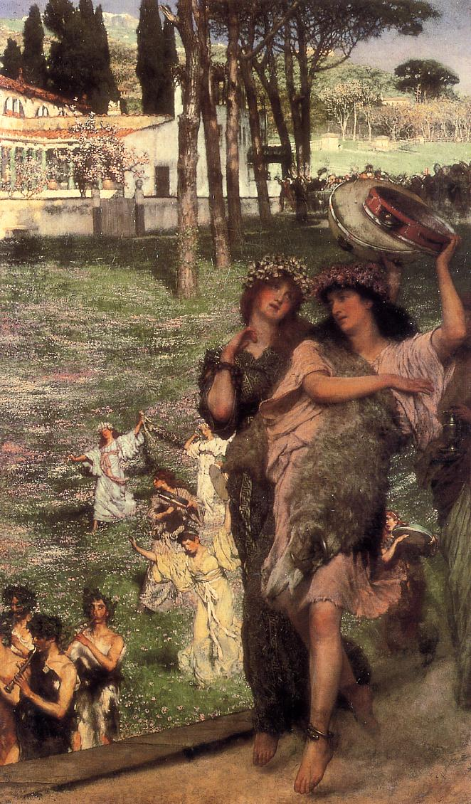 Alma Tadema, On the Road to the Temple of Ceres, 1879, private collection