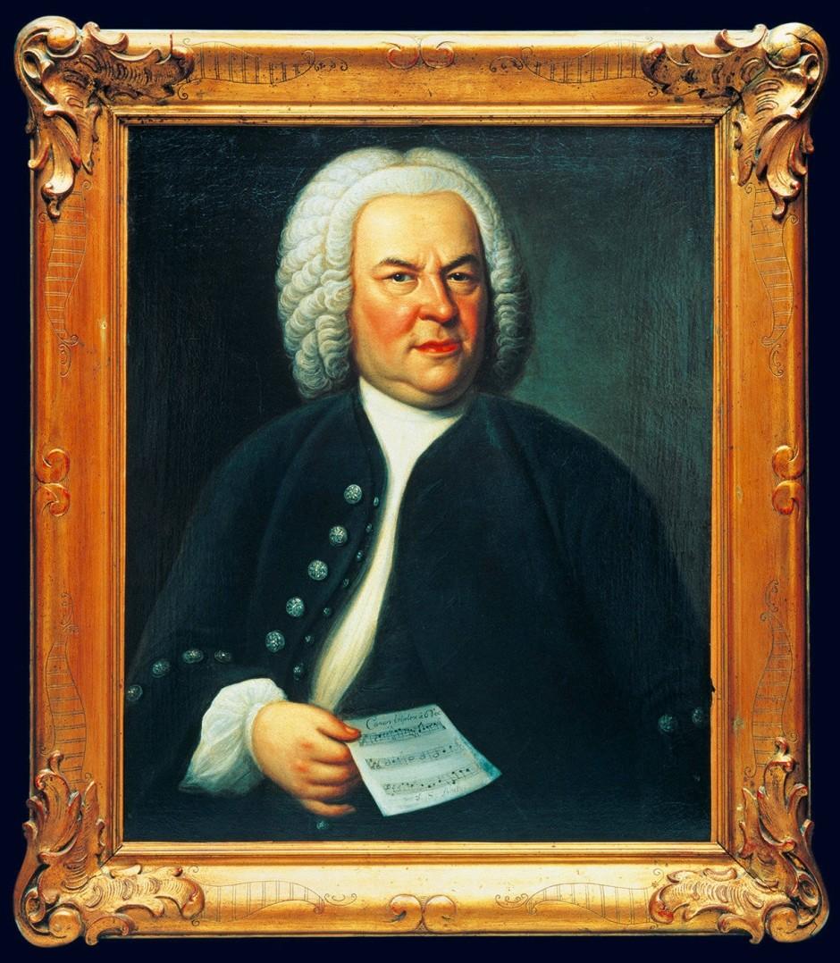 Elias Gottlob Haussmann, Portrait of J.S. Bach, 1748, Bach-Archiv Leipzig.