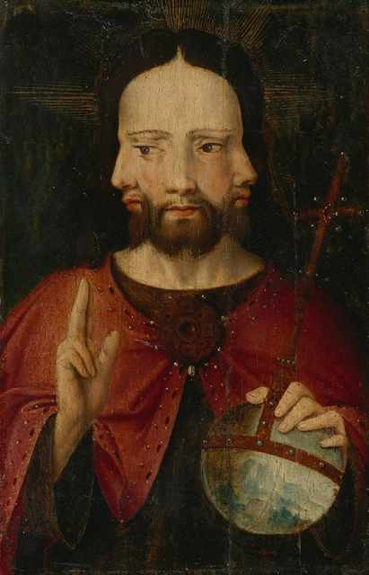 Christ with Three Faces (The Trinity)