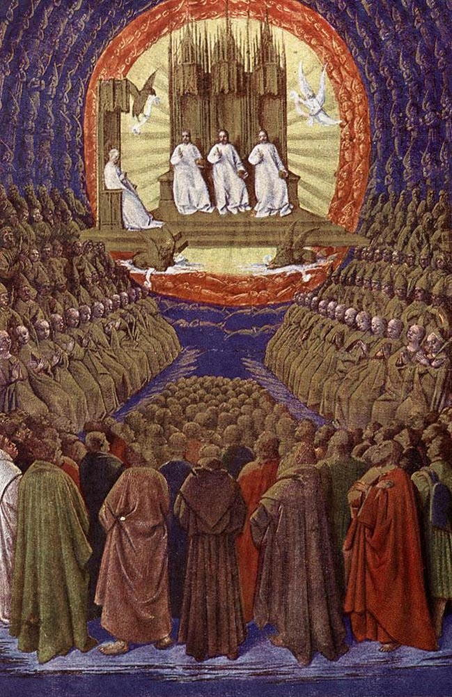 Enthronement of the Virgin or, The Trinity in its Glory
