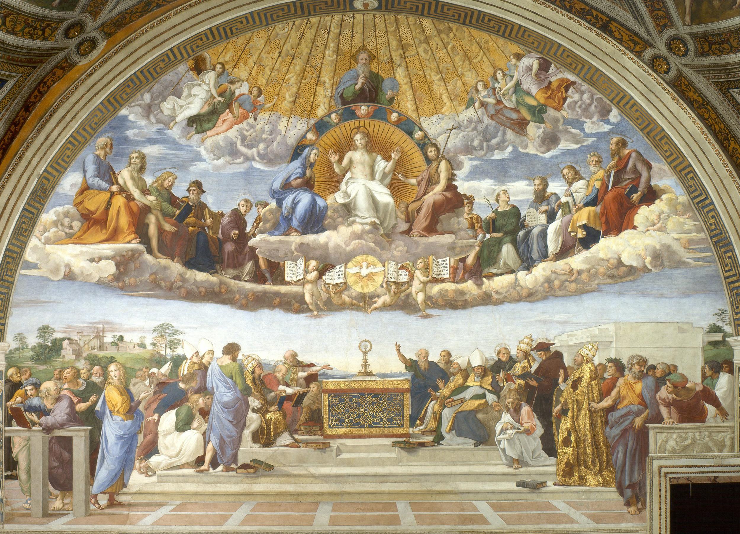 The Disputation of the Sacrament, or Disputa