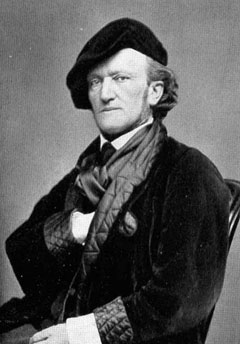 Photo of Richard Wagner, 1868, by Henry Guttmann, Getty Images