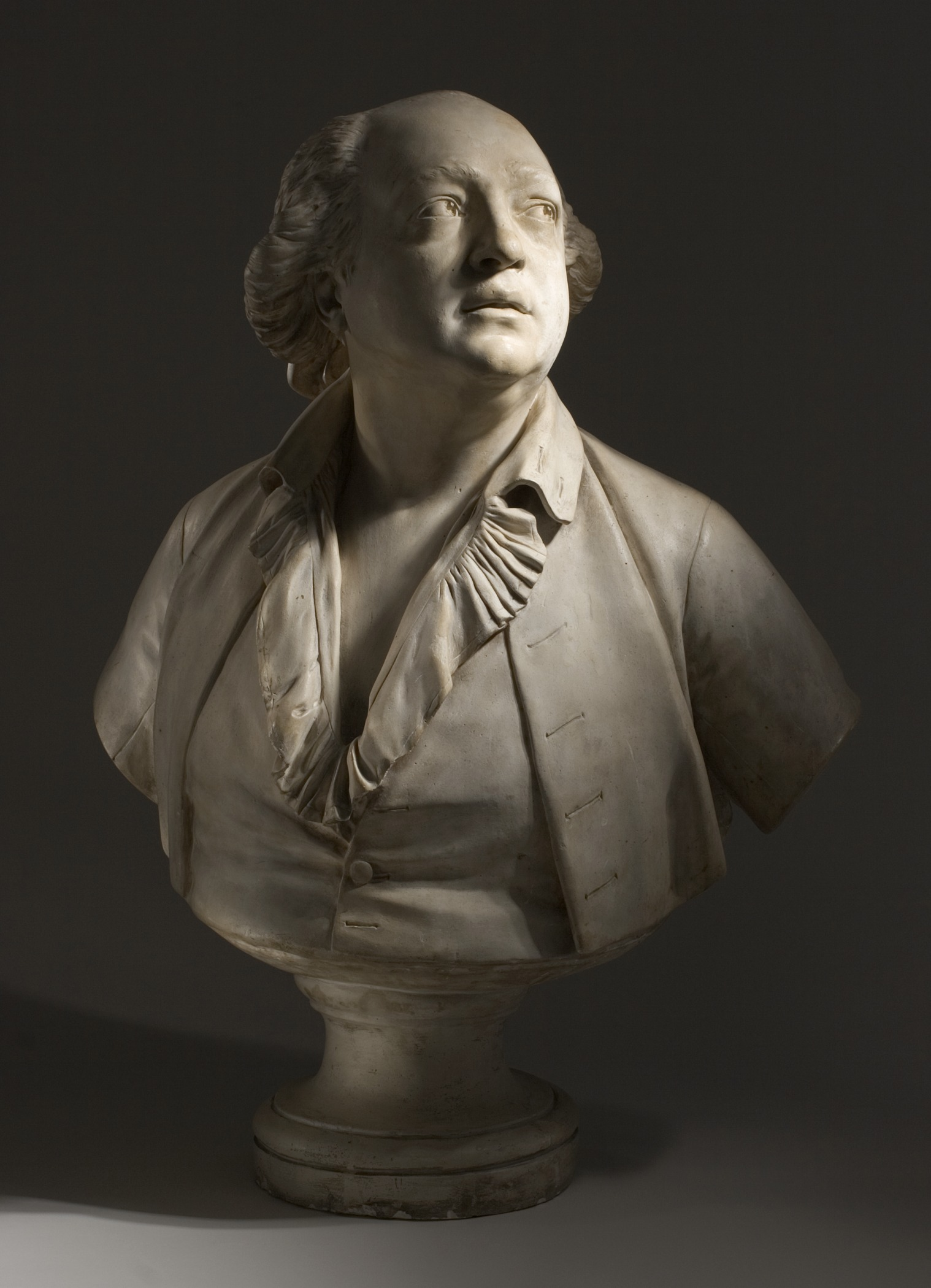 Jean-Antoine Houdon, Portrait of Giuseppe Balsamo (called Count Alessandro Cagliostro), circa 1786, Los Angeles County Museum of Art