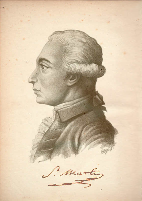 Louis Claude de Saint-Martin, unknown author, circa 1800