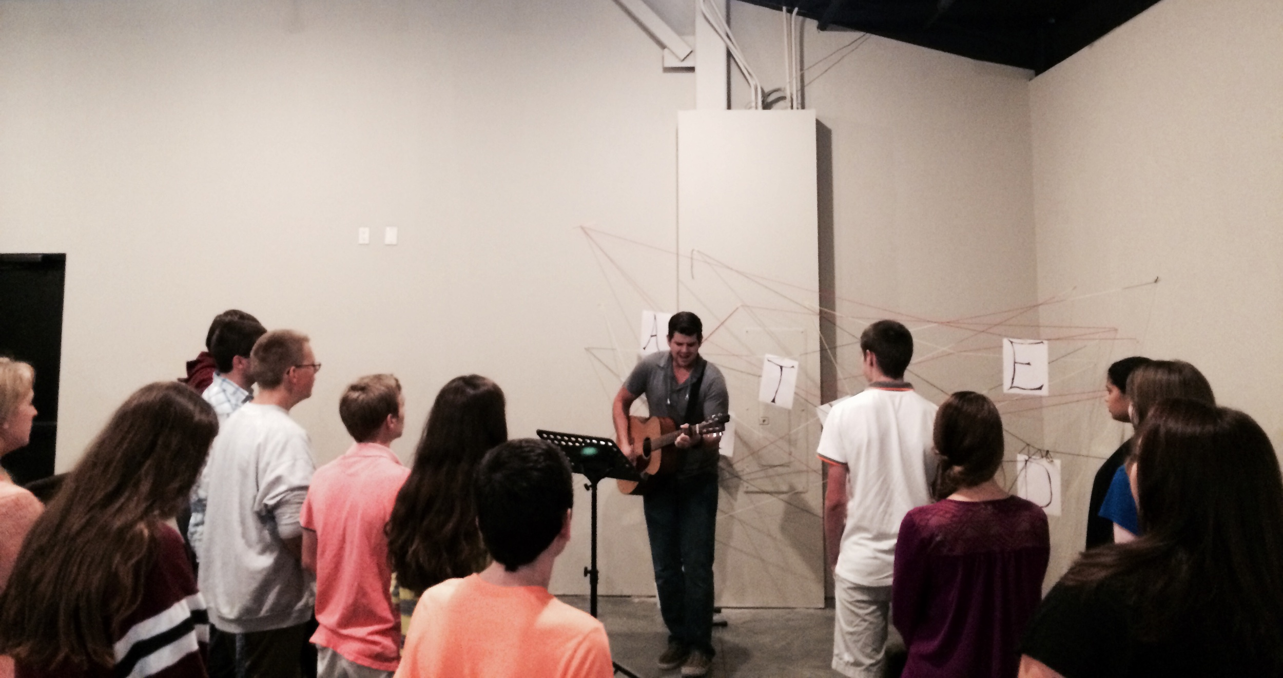 Having a great time kicking off our new Sunday morning gathering!